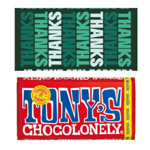 Thanks chocolade bedankjes