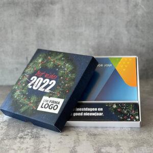 Giftbox met cadeaukaart en tekst