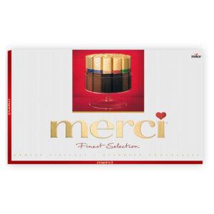 Prettige kerstdagen chocolade bedankje