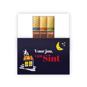 Sinterklaas bedankjes met chocolade