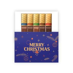 merry Christmas chocolade geschenk