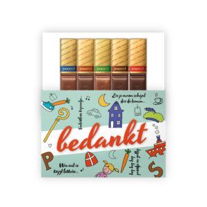 Sinterklaas merci chocolade
